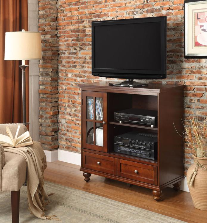 Convenience Concepts  Tahoe Highboy TV Stand