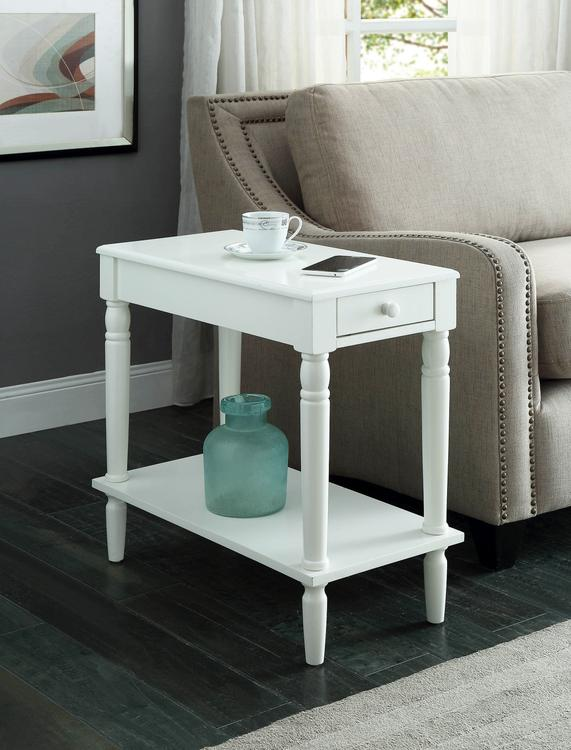 Convenience Concepts  French Country No Tools Chairside Table