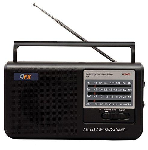 4 Band Radio Black