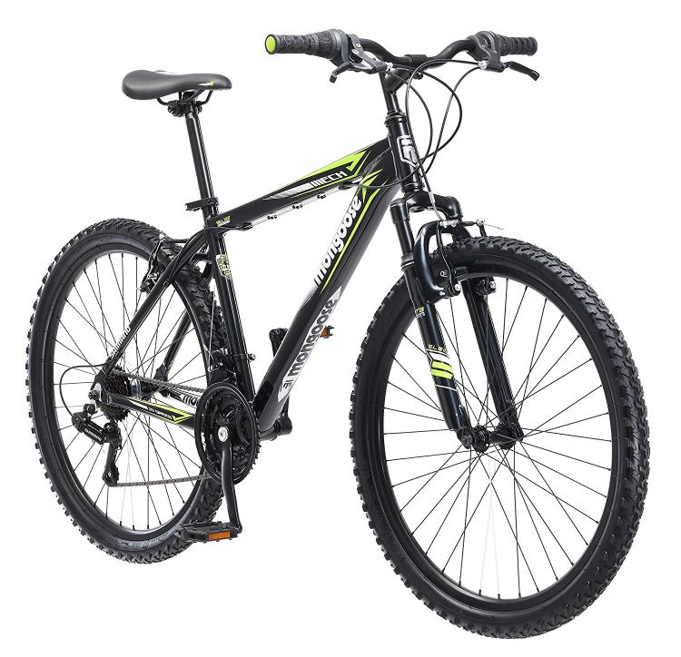 Mongoose Men's Mech - Front Suspension Bicycle