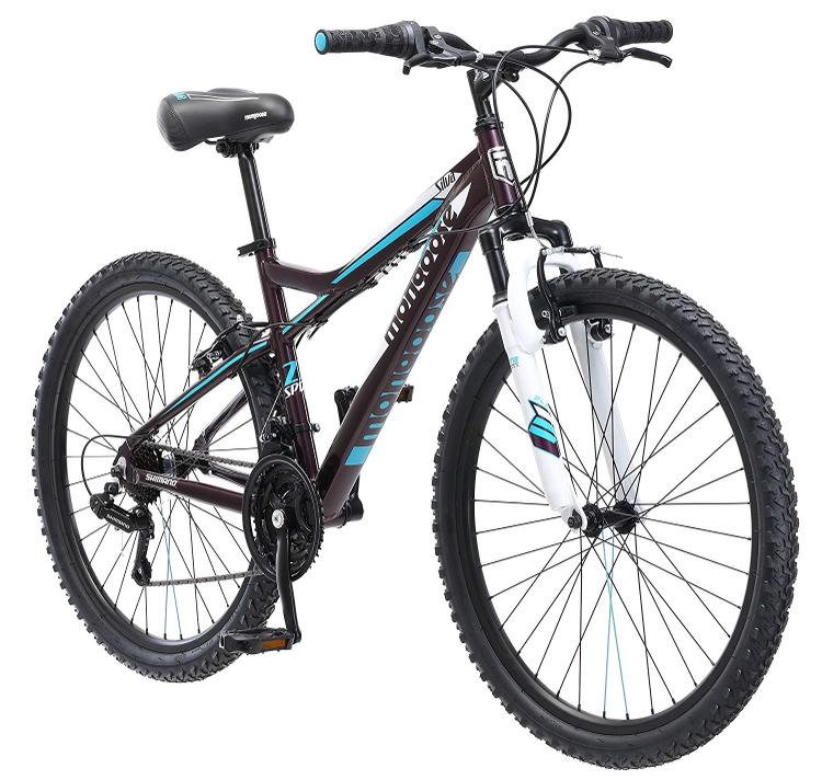 Mongoose Women's Silva - Front Suspension Bicycle