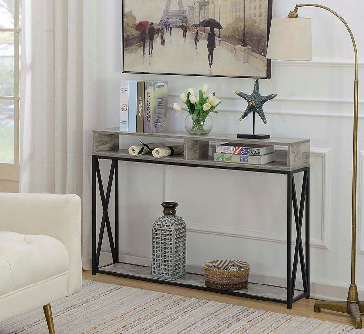 Tucson Deluxe 2 Tier Console Table