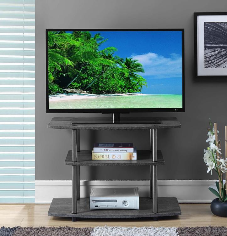 Convenience Concepts  Designs2Go 3 Tier TV Stand