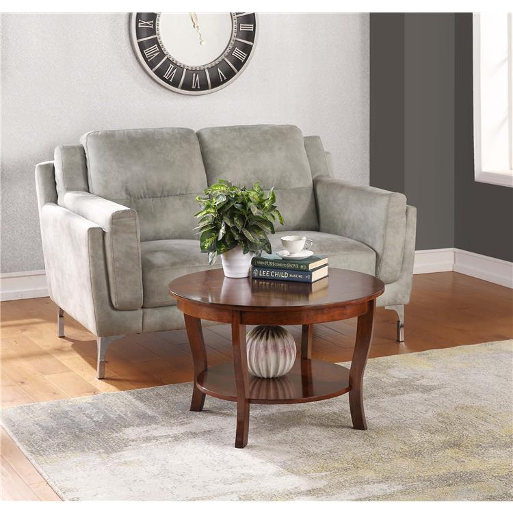 Convenience Concepts American Heritage Round Coffee Table