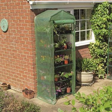 5 TIER GROWHOUSE WITH HEAVY DUTY COVER - 6'7