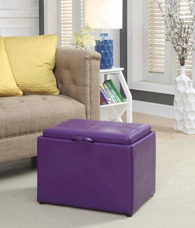 Designs4Comfort Accent Storage Ottoman