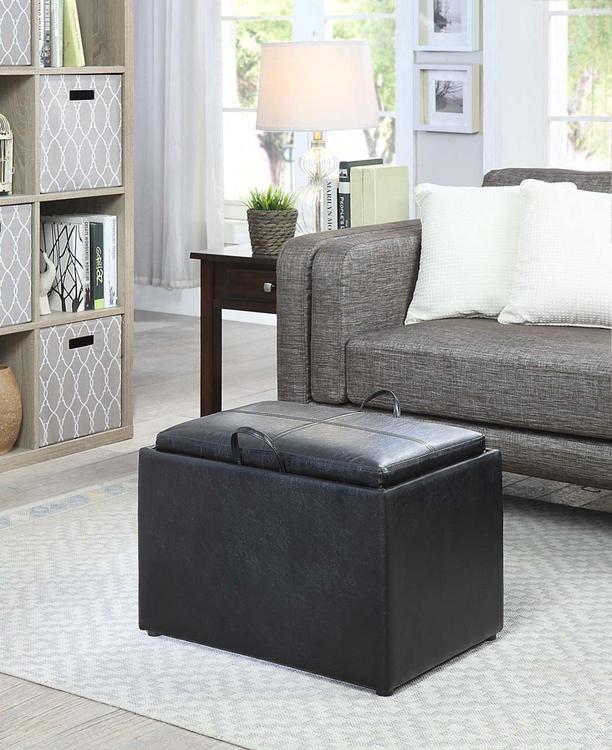 Designs4Comfort Accent Storage Ottoman