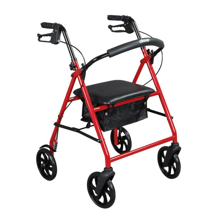 Steel Rollator Rolling Walker with 8