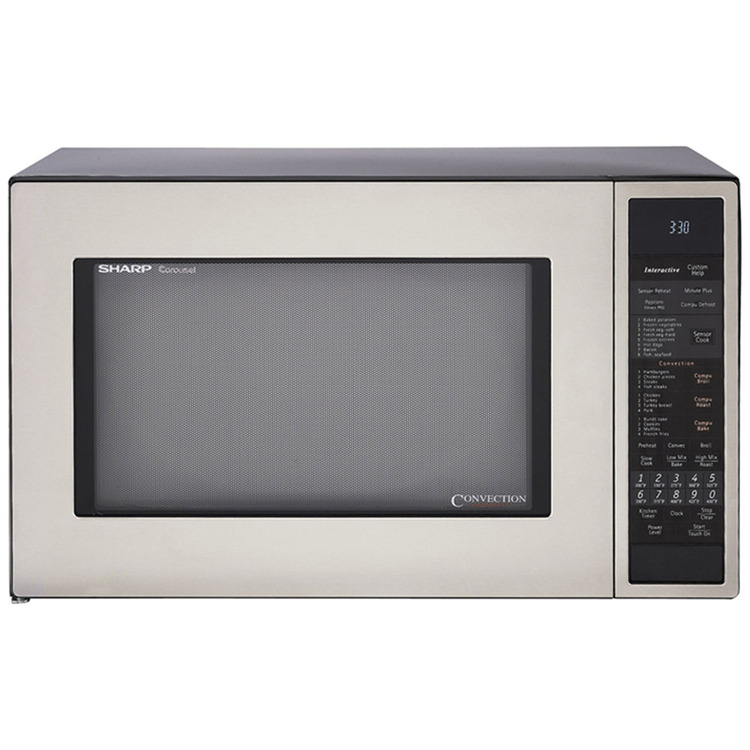 1.5 Cu. Ft. 900W Convection Microwave Oven - Stainless Steel