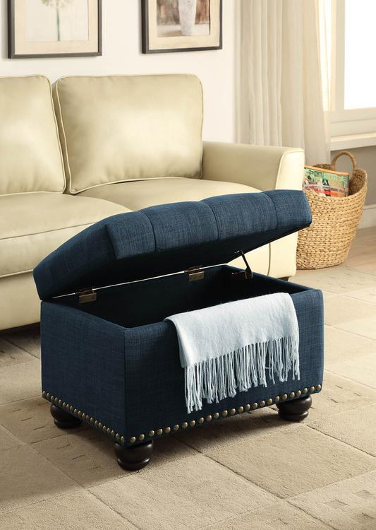 Convenience Concepts Designs4Comfort 5th Avenue Storage Ottoman