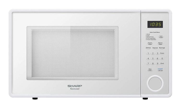 R309 Series Mid-Size 1.1 Cu. Ft. 1000W Microwave Oven in Smooth White