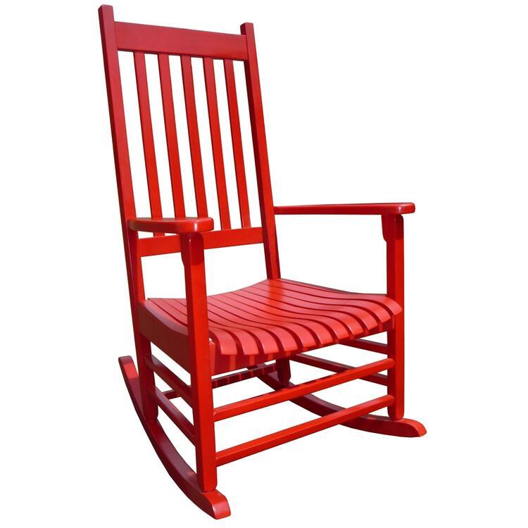 Porch Rocker - Solid Wood