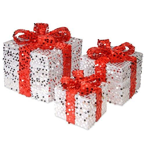 National Tree Sequin Gift Box Assortment