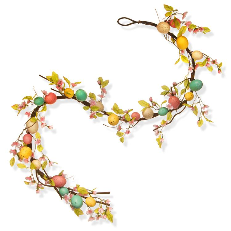 National Tree 72 inch Easter Egg Garland