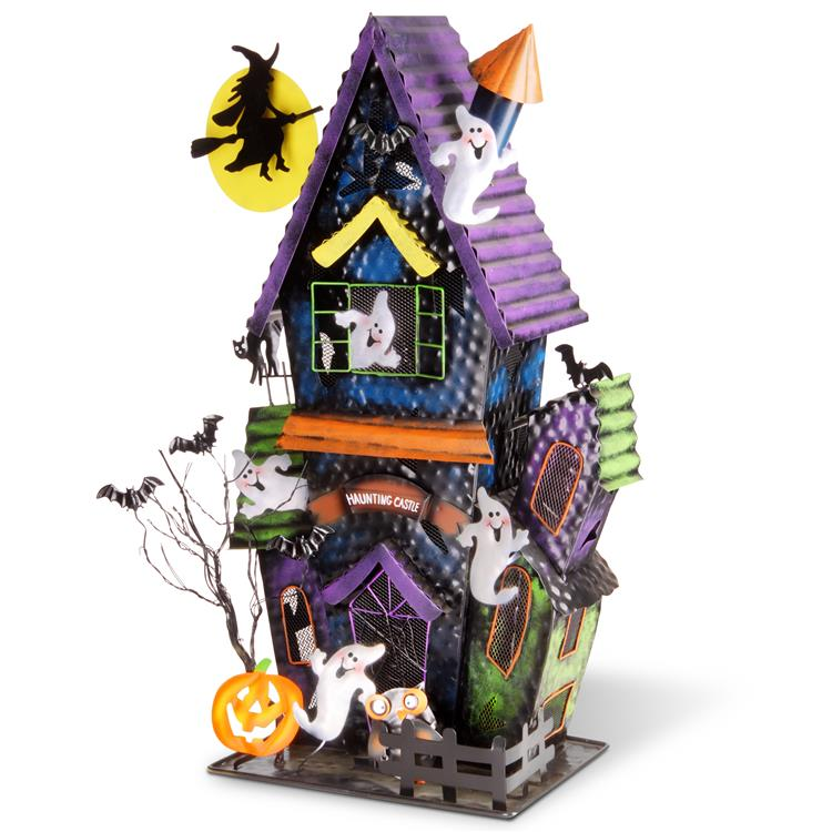 National Tree 27 inch Haunted Castle Decoration [Item # RAH-HS6X001]