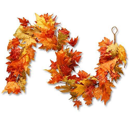 National Tree Maple Leaf Garland