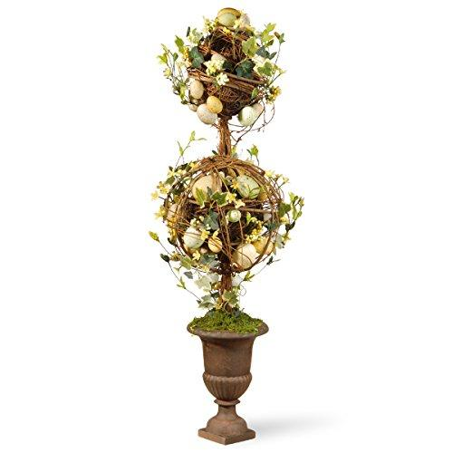 National Tree Two Ball Easter Topiary
