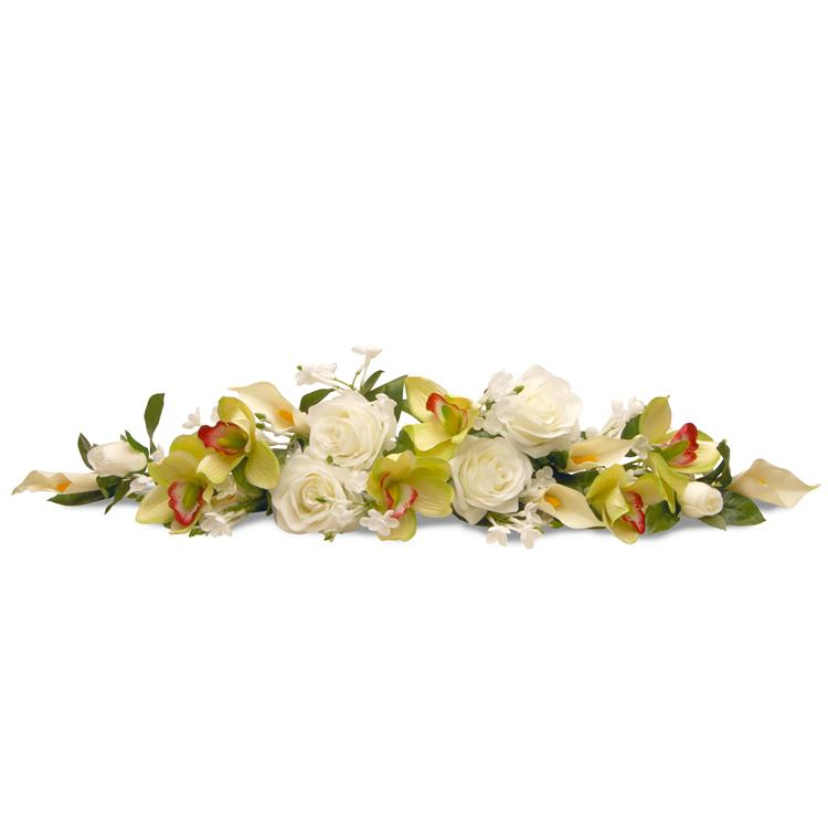 National Tree 28 inch Spring Flowers Swag [Item # RAS-477814A-1]