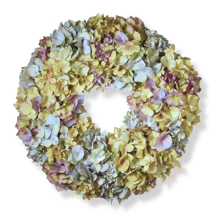 National Tree Mixed Hydrangea Wreath