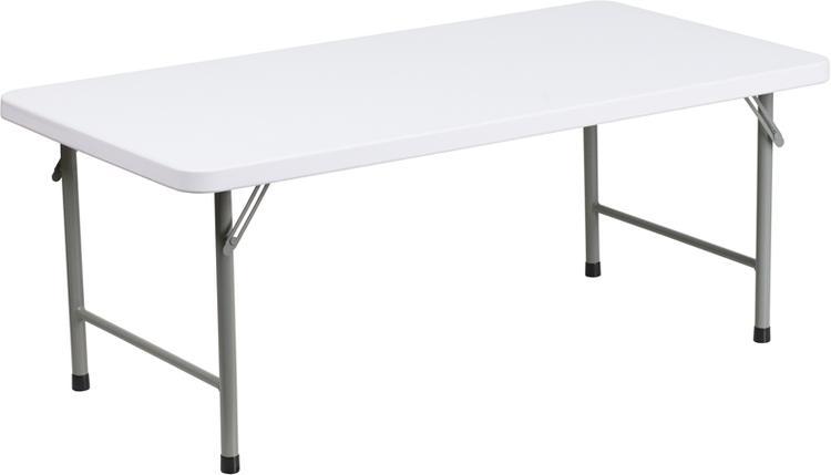 Flash Furniture Kid'S Plastic Folding Table [Item # RB-2448-KID-GG]