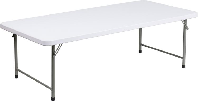 Flash Furniture Kid'S Plastic Folding Table