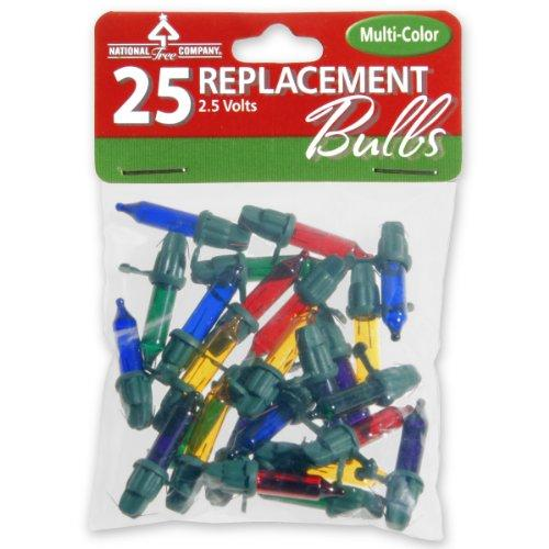 National Tree 25 Replacement Bulbs