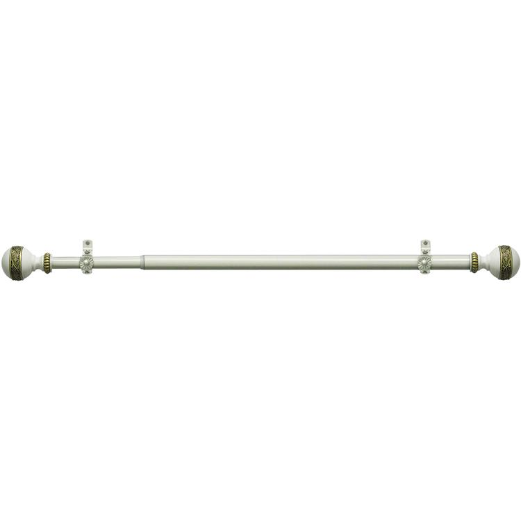 Camino Decorative Rod & Finial Embrace