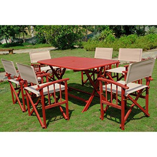 Cariati Acacia Wood Patio Group