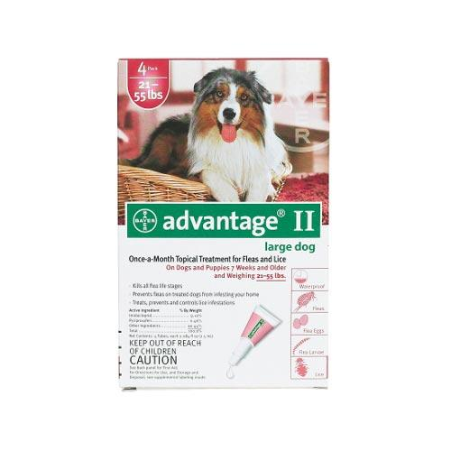 Flea Control For Dogs And Puppies 21-55 Lbs