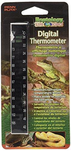 Penn Plax The Reptology Reptile High-Range Digital Thermometer