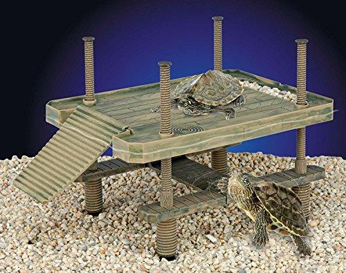 Penn Plax The Reptology Large Turtle Pier - Large