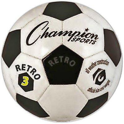 Retro Size 3 Soccer Ball
