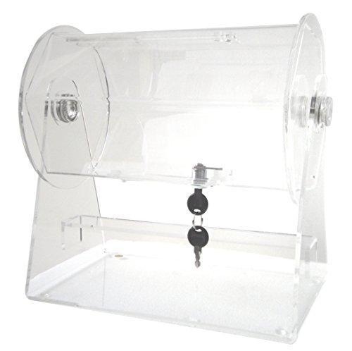 Acrylic Small Raffle Ticket Drum