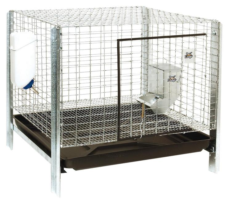 Little Giant Farm & Ag Rhck1 Rabbit Hutch Kit