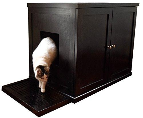 Refined Litter Box - Large - Espresso