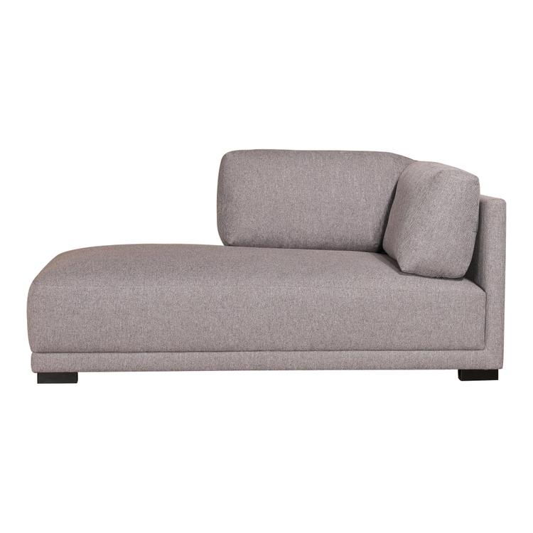 Armen Living Romeo Chaise Left Grey
