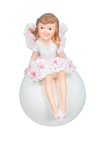 Cherry Pixie On Ball Figurine