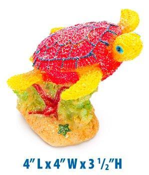 4? L X 4? W X 3 1/2?H Sparkling Turtle
