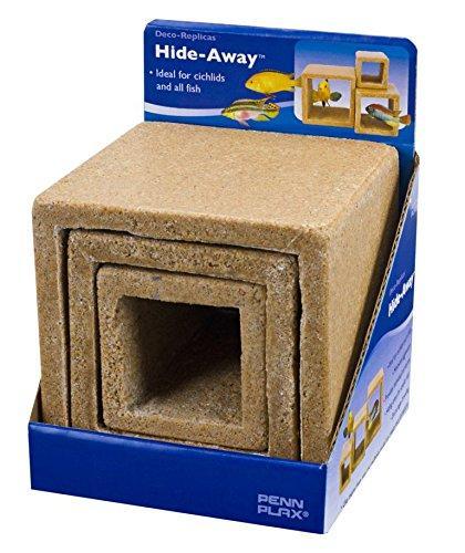 Penn Plax Cube Stone Hideaways? 3 Pack