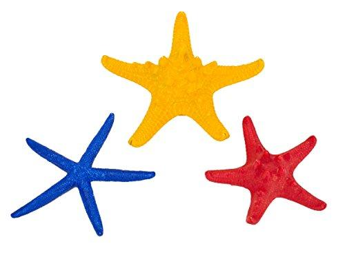 Starfish Pre-Packs -3?H Red Starfish, 3 1/2?H Blue Starfish & 4?H Yellow Starfish