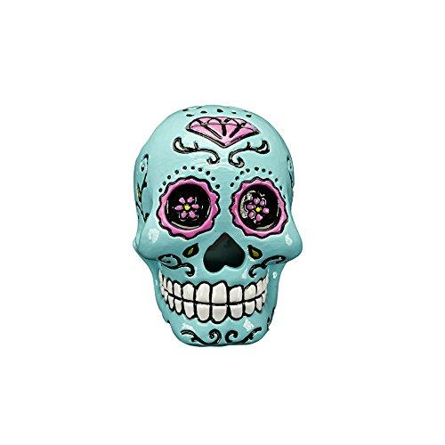 Sugar Skull - Blue W/White Teeth