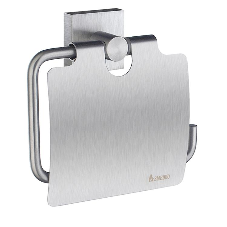 House Toilet Roll Holder with Lid