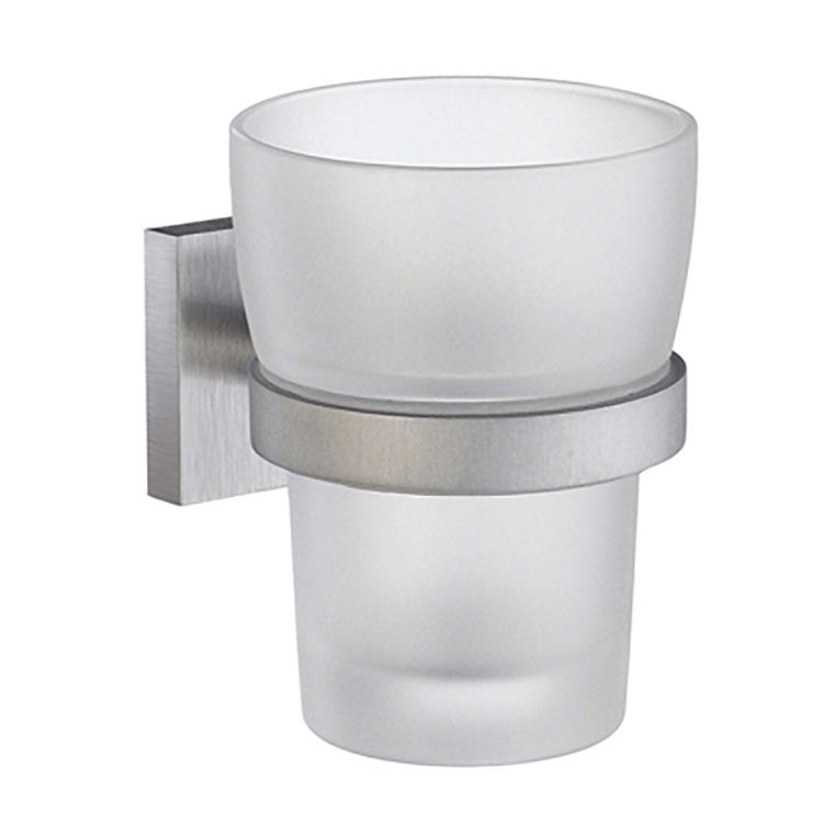 House Tumbler Frosted Glass