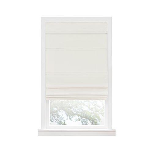 Cordless Blackout Roman Window Shade 31X64 Ivory