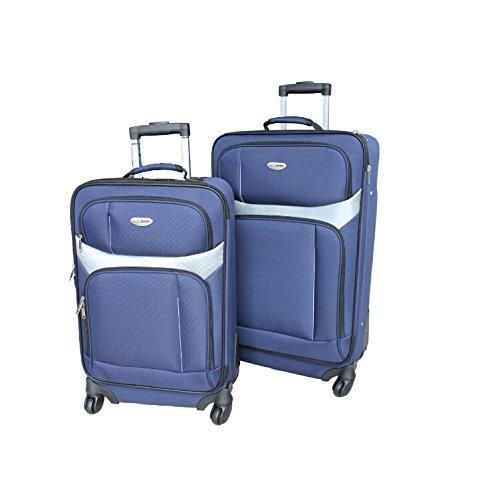 Milano 2 PC Luggage Set - Blue