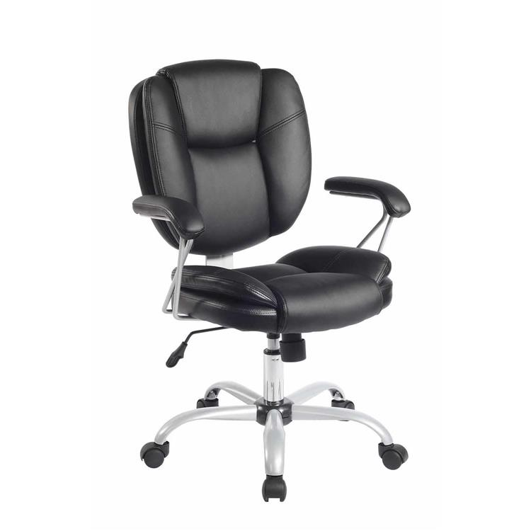 Techni Mobili Plush Task Office Chair With Techniflex Upholstery