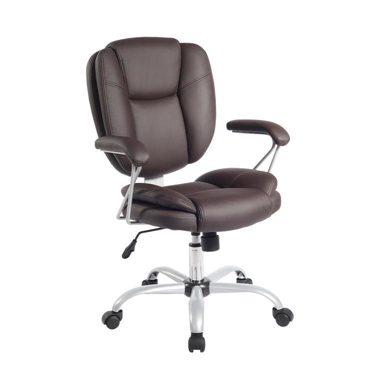 Techni Mobili Plush Task Office Chair With Techniflex Upholstery