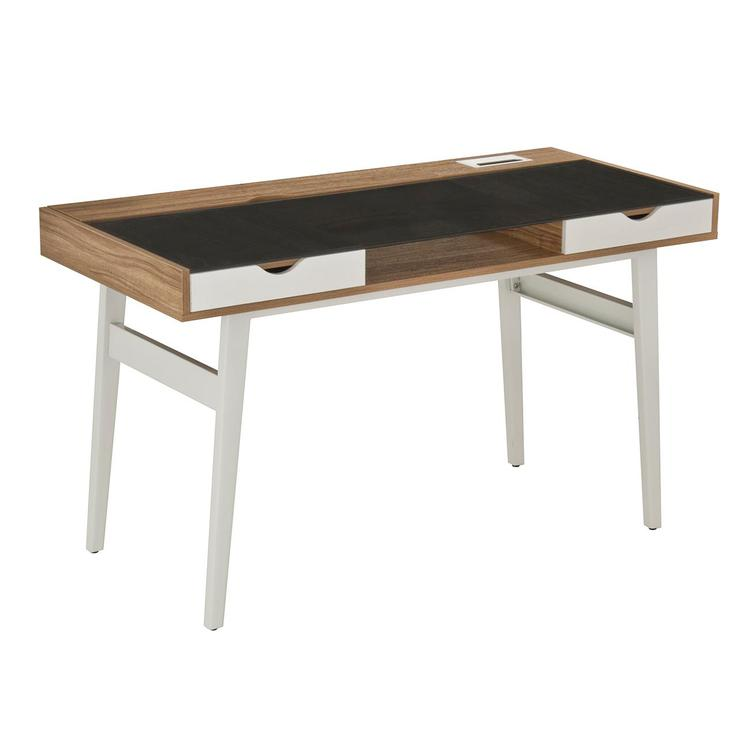 Techni Mobili Compact Computer Desk With Multiple Storage