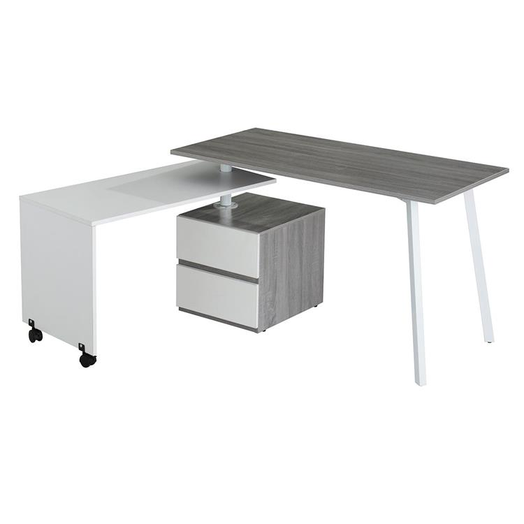 Techni Mobili Rotating Multi-Positional Modern Desk