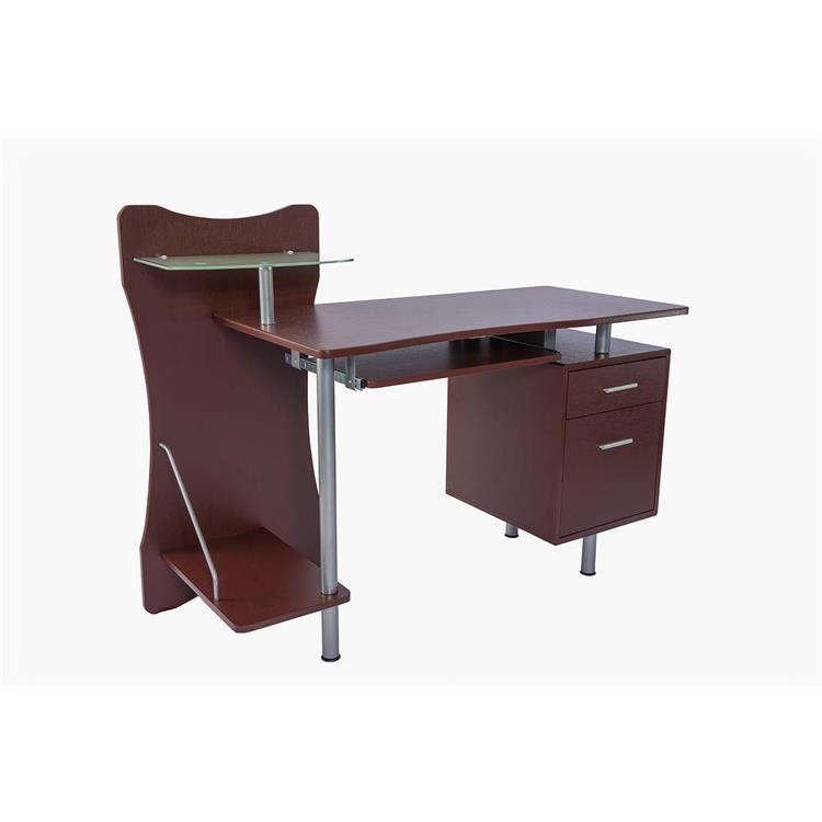 Techni Mobili Stylish Computer Desk With Storage